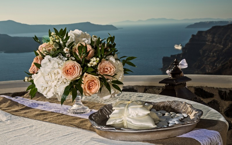 Alesandra  Ricardo Lov Weddings Santorini Packages 1