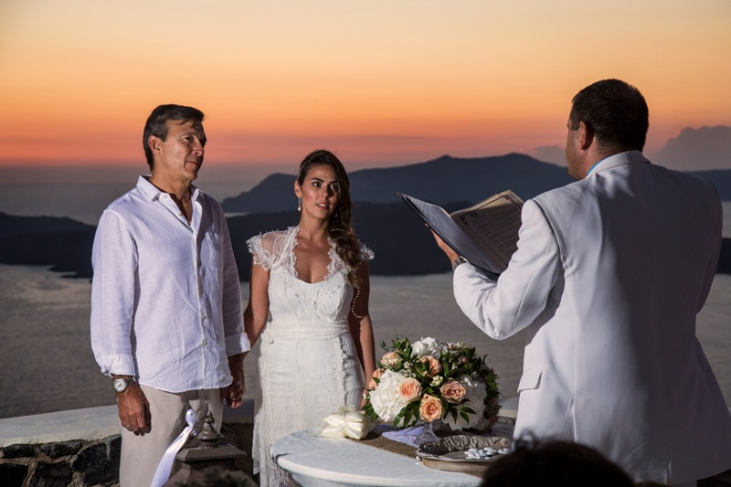 Alesandra  Ricardo Lov Weddings Santorini Packages 10