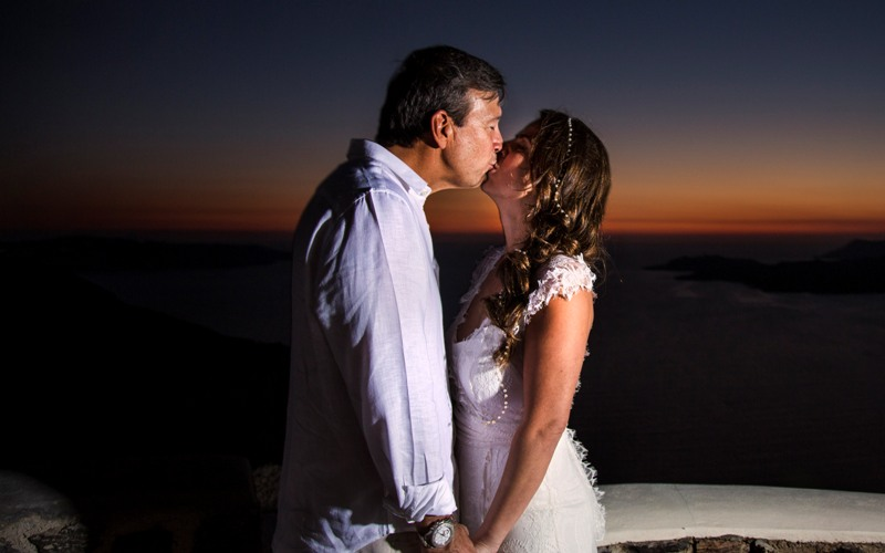 Alesandra  Ricardo Lov Weddings Santorini Packages 12