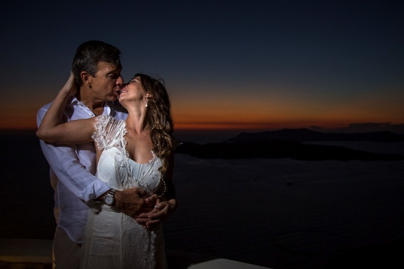 Alesandra  Ricardo Lov Weddings Santorini Packages 13