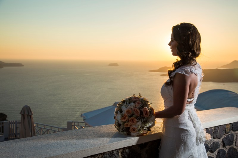 Alesandra  Ricardo Lov Weddings Santorini Packages 15