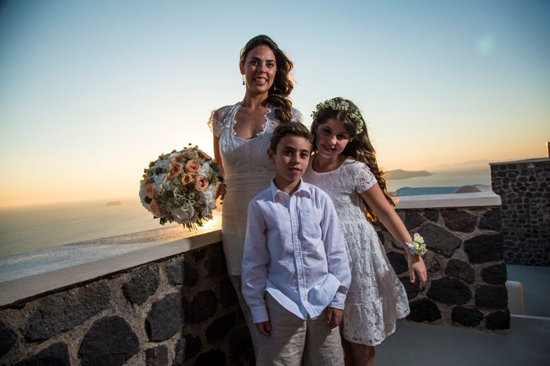 Alesandra  Ricardo Lov Weddings Santorini Packages 16