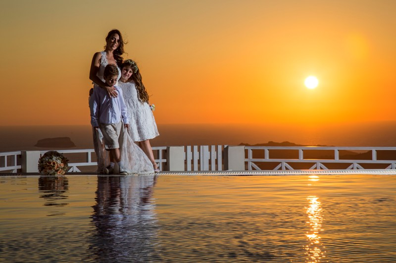 Alesandra  Ricardo Lov Weddings Santorini Packages 17
