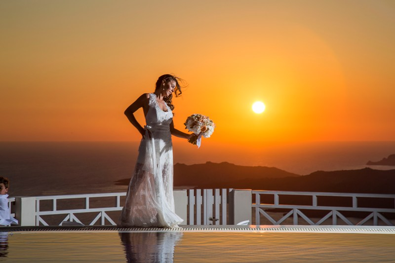 Alesandra  Ricardo Lov Weddings Santorini Packages 18