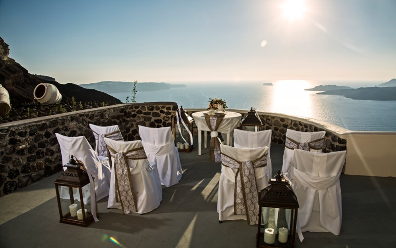 Alesandra  Ricardo Lov Weddings Santorini Packages 2