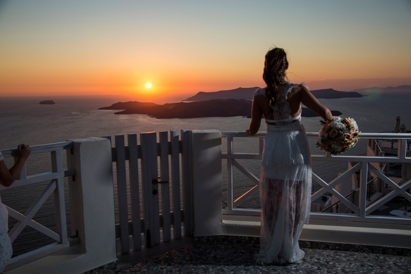 Alesandra  Ricardo Lov Weddings Santorini Packages 21