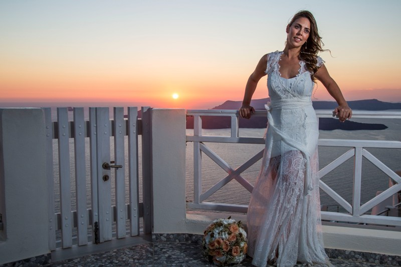 Alesandra  Ricardo Lov Weddings Santorini Packages 23