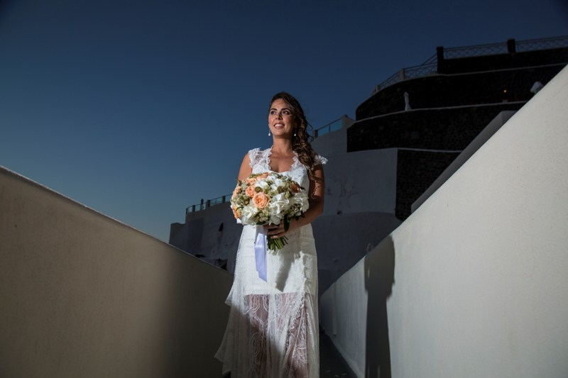 Alesandra  Ricardo Lov Weddings Santorini Packages 24