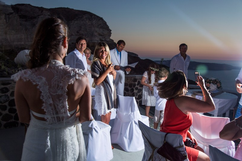 Alesandra  Ricardo Lov Weddings Santorini Packages 25