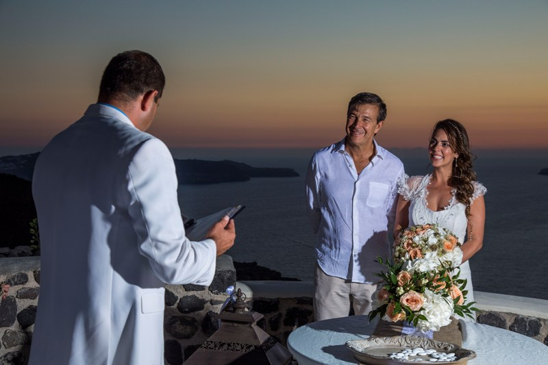 Alesandra  Ricardo Lov Weddings Santorini Packages 26