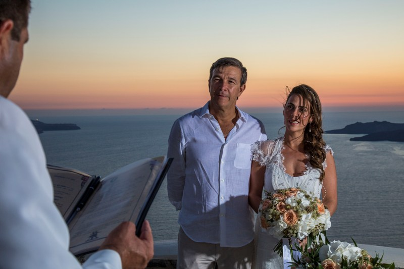 Alesandra  Ricardo Lov Weddings Santorini Packages 27