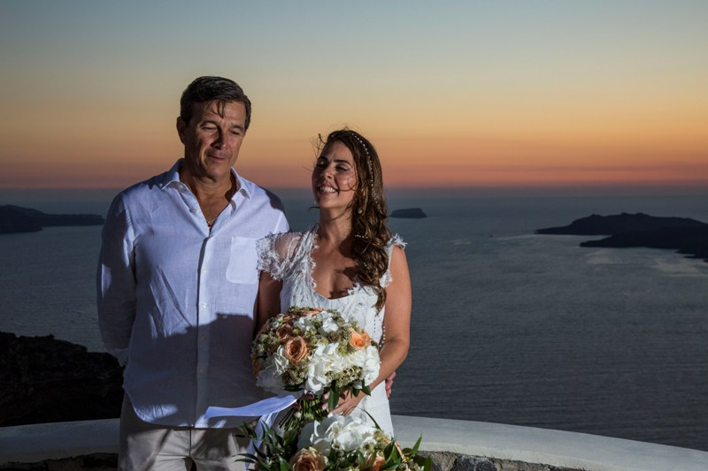 Alesandra  Ricardo Lov Weddings Santorini Packages 28