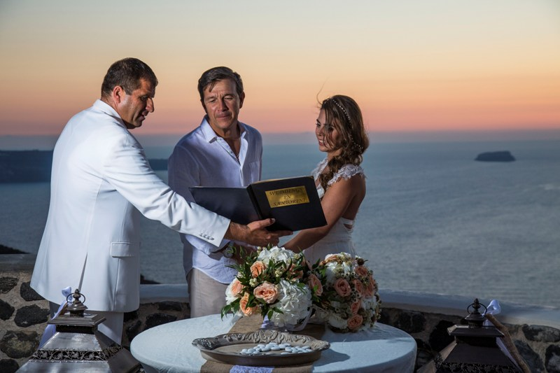 Alesandra  Ricardo Lov Weddings Santorini Packages 30