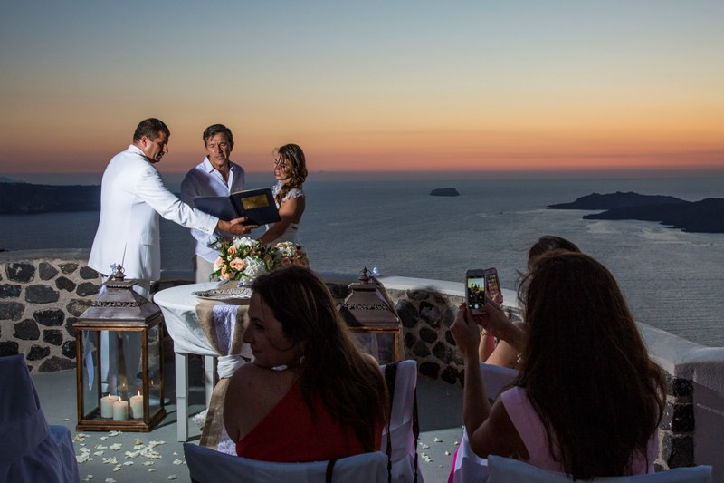 Alesandra  Ricardo Lov Weddings Santorini Packages 31