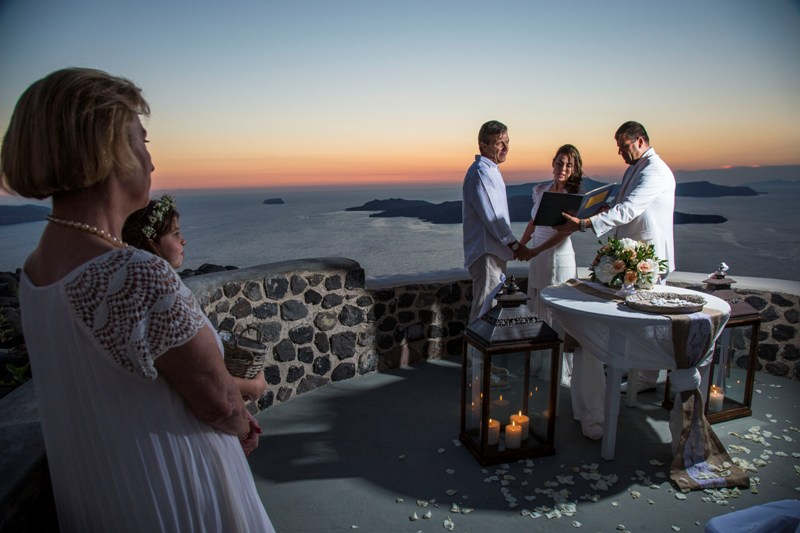 Alesandra  Ricardo Lov Weddings Santorini Packages 32