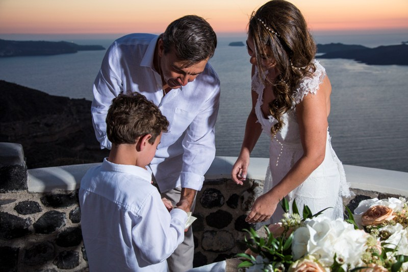 Alesandra  Ricardo Lov Weddings Santorini Packages 35