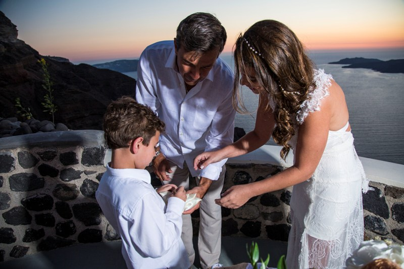 Alesandra  Ricardo Lov Weddings Santorini Packages 36