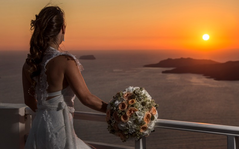 Alesandra  Ricardo Lov Weddings Santorini Packages 4