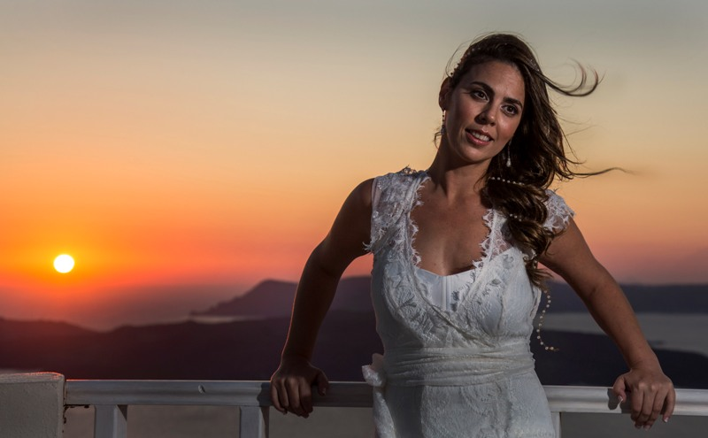 Alesandra  Ricardo Lov Weddings Santorini Packages 5