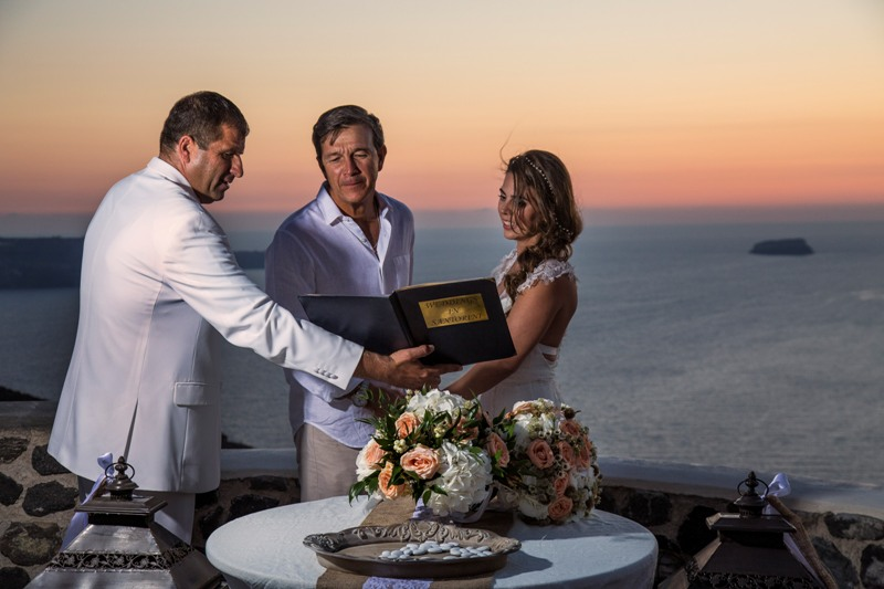 Alesandra  Ricardo Lov Weddings Santorini Packages 6