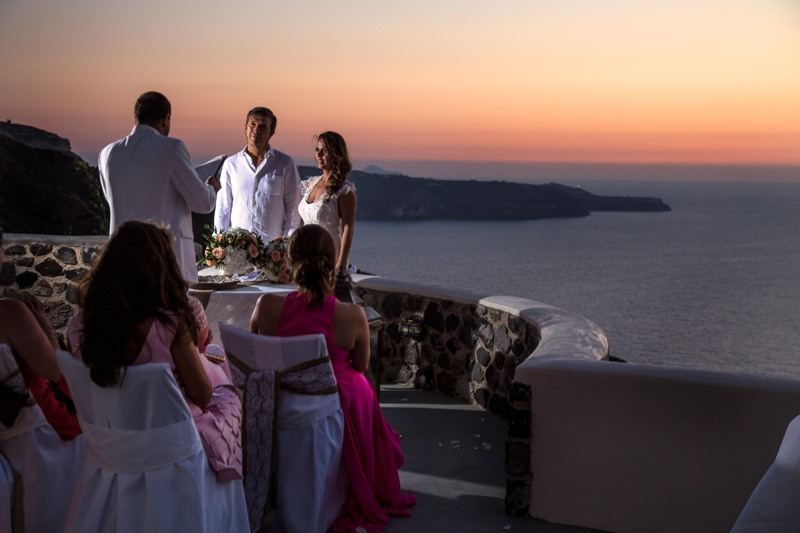 Alesandra  Ricardo Lov Weddings Santorini Packages 8