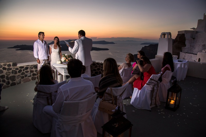 Alesandra  Ricardo Lov Weddings Santorini Packages 9