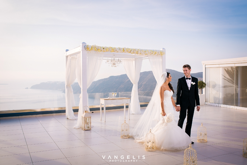 Santorini Weddings Vangelis Vangelisphotography Lovwed Lovweddings Leciel Ceremony34