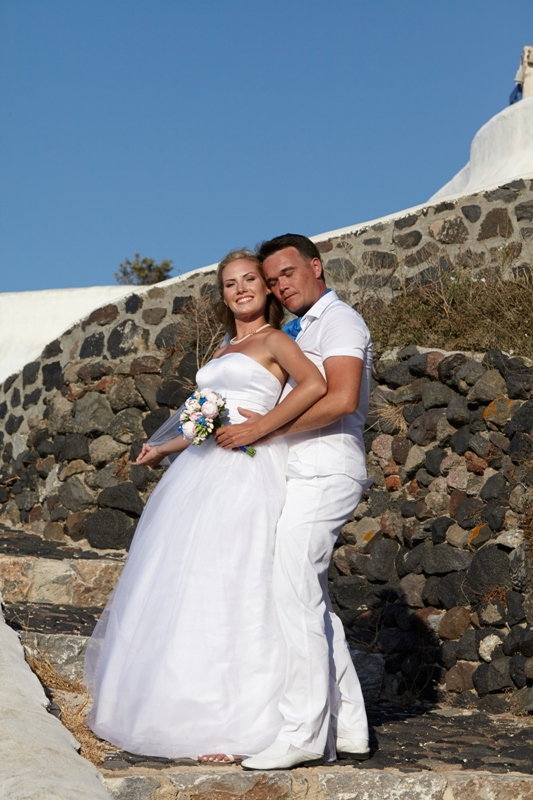 Ekaterina Slava Lov Weddings Santorini Package Photoshooting 30