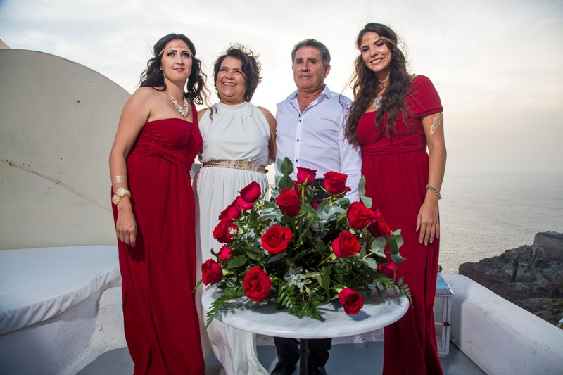 Lov Weddings Lovwed Santorini Greece Gustavo Maria Vow Renewal Lovwed 1