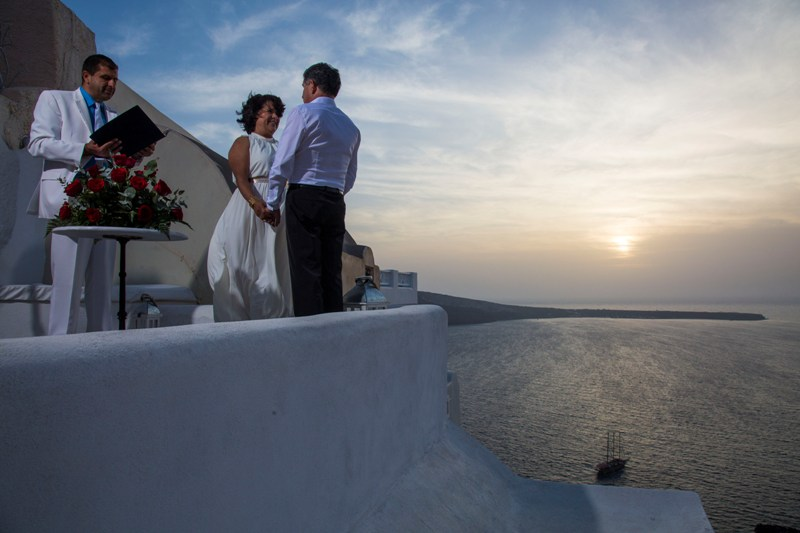 Lov Weddings Lovwed Santorini Greece Gustavo Maria Vow Renewal Lovwed 4