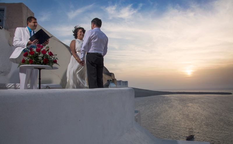 Lov Weddings Lovwed Santorini Greece Gustavo Maria Vow Renewal Lovwed 5