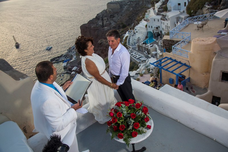 Lov Weddings Lovwed Santorini Greece Gustavo Maria Vow Renewal Lovwed 6