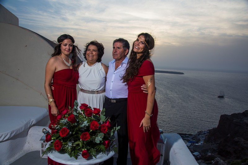 Lov Weddings Lovwed Santorini Greece Gustavo Maria Vow Renewal Lovwed 8